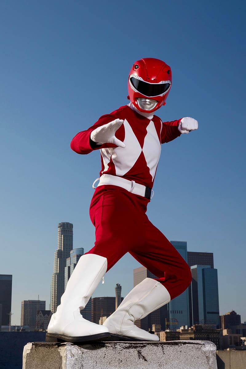 Superhero power ranger party character for kids in las vegas